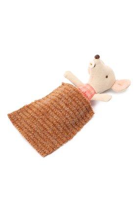 Детского игрушка новорожденный мышонок MAILEG бежевого цвета, арт. 16-9713-00 | Фото 1