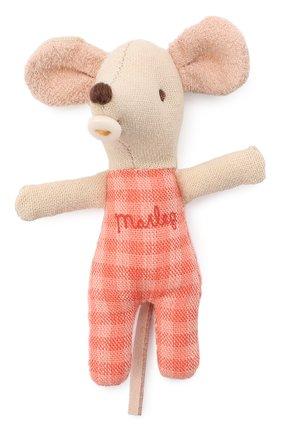Детского игрушка новорожденный мышонок MAILEG бежевого цвета, арт. 16-9713-00 | Фото 2