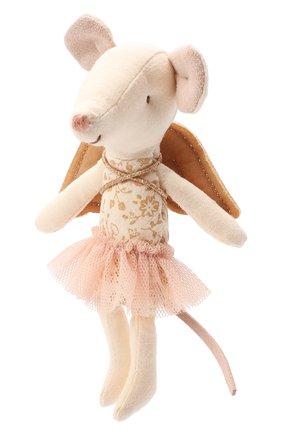 Детского игрушка мышка ангел MAILEG бежевого цвета, арт. 16-8734-00 | Фото 1
