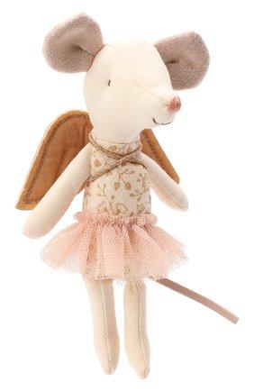 Детского игрушка мышка ангел MAILEG бежевого цвета, арт. 16-8734-00 | Фото 2