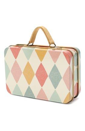 Детского игрушечный чемодан арлекин MAILEG бежевого цвета, арт. 20-7018-00 | Фото 2