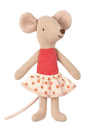 Детского игрушка мышка младшая сестра MAILEG бежевого цвета, арт. 16-9720-01 | Фото 1