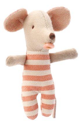 Детского игрушка мышата тройняшки MAILEG бежевого цвета, арт. 16-0710-01 | Фото 2