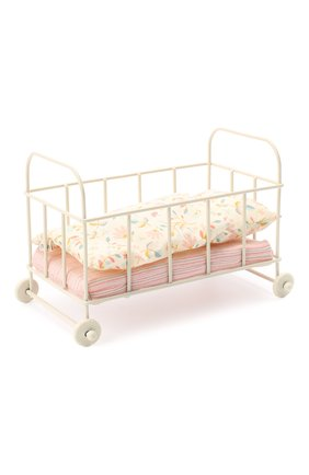 Детского игрушка детская кровать MAILEG бежевого цвета, арт. 11-0108-00 | Фото 1