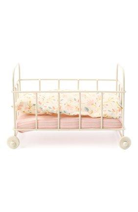 Детского игрушка детская кровать MAILEG бежевого цвета, арт. 11-0108-00 | Фото 2