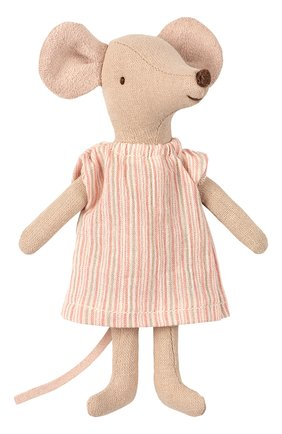 Детского игрушка мышка старшая сестра MAILEG бежевого цвета, арт. 16-9732-01 | Фото 1