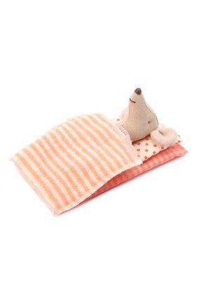 Детского игрушка мышка старшая сестра MAILEG бежевого цвета, арт. 16-9732-01 | Фото 2