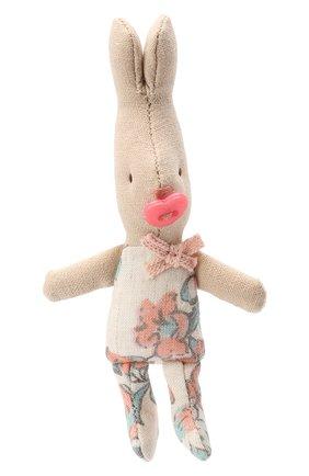 Детского игрушка новорожденный кролик MAILEG розового цвета, арт. 16-3005-17 | Фото 1
