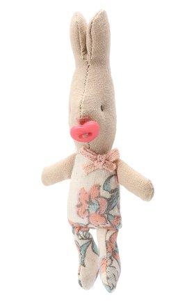 Детского игрушка новорожденный кролик MAILEG розового цвета, арт. 16-3005-17 | Фото 2