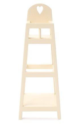 Детского игрушка высокий стул MAILEG белого цвета, арт. 11-0002-00 | Фото 1