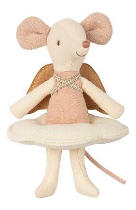 Детского игрушка мышка ангел MAILEG бежевого цвета, арт. 16-8738-01 | Фото 1