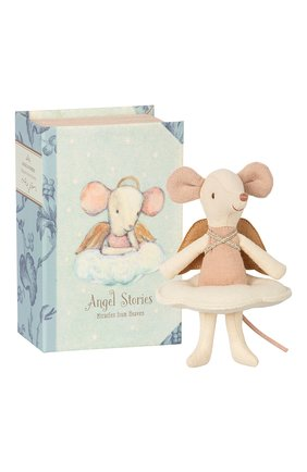 Детского игрушка мышка ангел MAILEG бежевого цвета, арт. 16-8738-01 | Фото 2