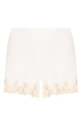 Женские шорты LA PERLA белого цвета, арт. 0047840 | Фото 1
