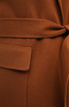 Женский кашемировый жилет LORO PIANA светло-коричневого цвета, арт. FAG3518 | Фото 6