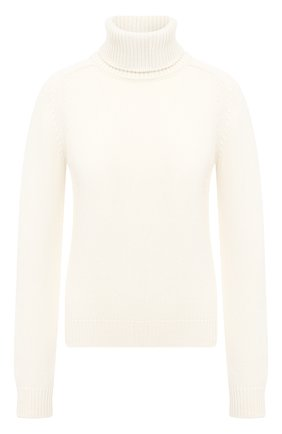Женская кашемировый свитер SAINT LAURENT белого цвета, арт. 631888/YALJ2 | Фото 1