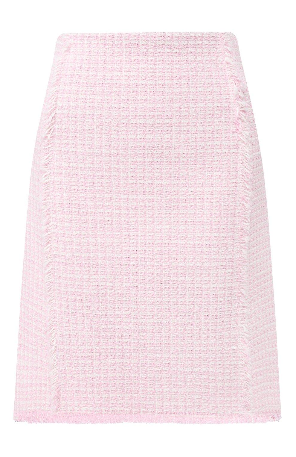 Женская юбка BOSS розового цвета, арт. 50434552 | Фото 1