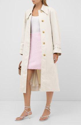 Женская юбка BOSS розового цвета, арт. 50434552 | Фото 2