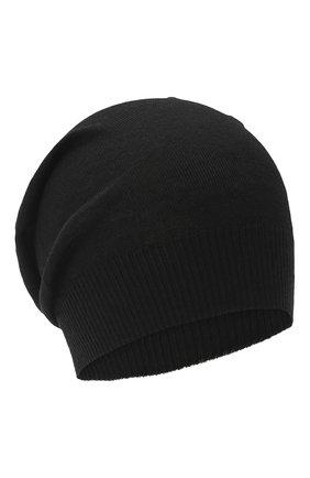 Женский шерстяная шапка RICK OWENS черного цвета, арт. RP20F2493/M   Фото 1