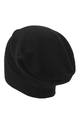 Женский шерстяная шапка RICK OWENS черного цвета, арт. RP20F2493/M   Фото 2