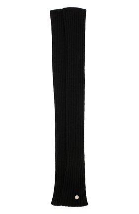 Женские шерстяные митенки RICK OWENS черного цвета, арт. RP20F2488/M | Фото 1