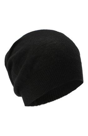 Мужская кашемировая шапка RICK OWENS черного цвета, арт. RU20F3493/WS   Фото 1