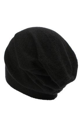 Мужская кашемировая шапка RICK OWENS черного цвета, арт. RU20F3493/WS   Фото 2