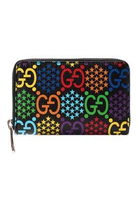 Мужской портмоне gg psychedelic GUCCI разноцветного цвета, арт. 601095/H20BN | Фото 1