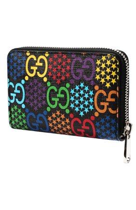 Мужской портмоне gg psychedelic GUCCI разноцветного цвета, арт. 601095/H20BN | Фото 2