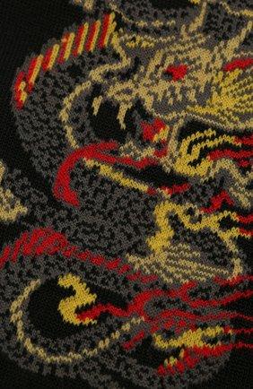 Мужские хлопковые носки STORY LORIS черного цвета, арт. 5989 | Фото 2