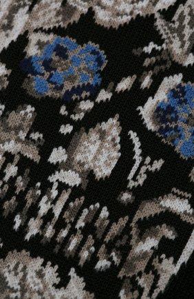 Мужские хлопковые носки STORY LORIS черного цвета, арт. 5965 | Фото 2