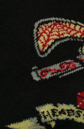 Мужские хлопковые носки STORY LORIS черного цвета, арт. 5943 | Фото 2