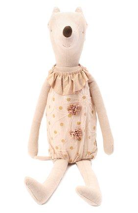 Детского игрушка цирковая мышка макси MAILEG бежевого цвета, арт. 16-8792-00   Фото 1