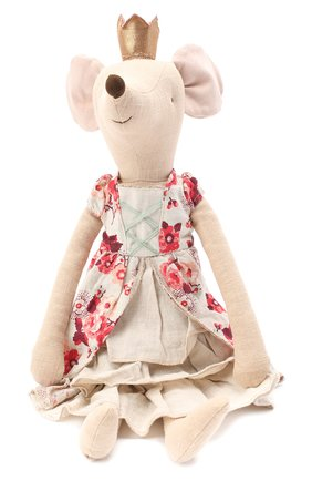 Детского игрушка мышка принцесса макси MAILEG бежевого цвета, арт. 16-9790-00   Фото 1