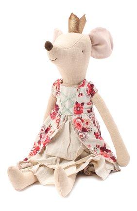 Детского игрушка мышка принцесса макси MAILEG бежевого цвета, арт. 16-9790-00   Фото 2