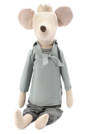 Детского игрушка мышонок принц макси MAILEG бежевого цвета, арт. 16-8743-00   Фото 1