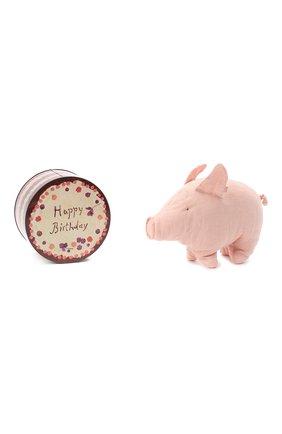 Детского подарочный поросенок в банке MAILEG розового цвета, арт. 19-6123-01 | Фото 1