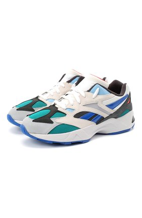 Мужские комбинированные кроссовки aztrek 96 REEBOK синего цвета, арт. EF3568 | Фото 1