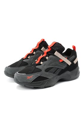 Мужские комбинированные кроссовки aztrek 96 adventure REEBOK серого цвета, арт. EG8917 | Фото 1