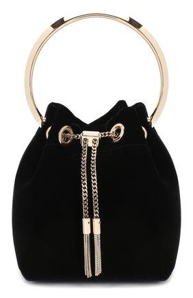 Женская сумка bonbon mini JIMMY CHOO черного цвета, арт. B0N B0N/VKK | Фото 1