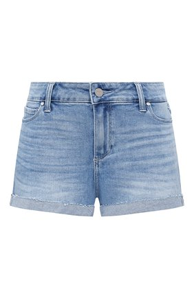 Женские джинсовые шорты PAIGE синего цвета, арт. 4281F72-7639 | Фото 1