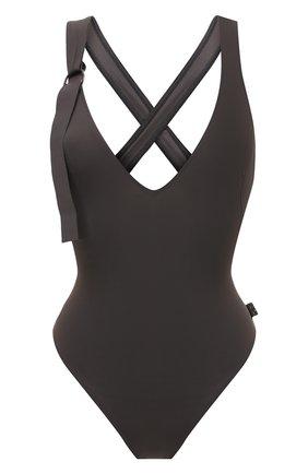 Женский слитный купальник SHAN серого цвета, арт. 42091-13 | Фото 1