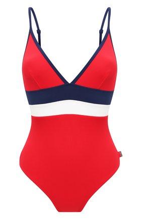 Женский слитный купальник SHAN красного цвета, арт. 42085-13 | Фото 1