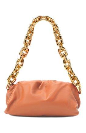 Женская сумка chain pouch BOTTEGA VENETA персикового цвета, арт. 620230/VCP40   Фото 1