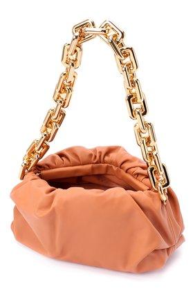 Женская сумка chain pouch BOTTEGA VENETA персикового цвета, арт. 620230/VCP40   Фото 4