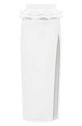 Женская юбка ULYANA SERGEENKO белого цвета, арт. GNM005SS20P (0602т20) | Фото 1