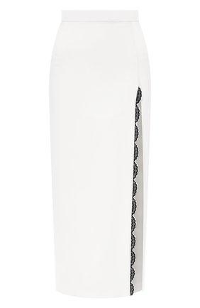 Женская юбка ULYANA SERGEENKO белого цвета, арт. GNM003SS20P (0584т20) | Фото 1