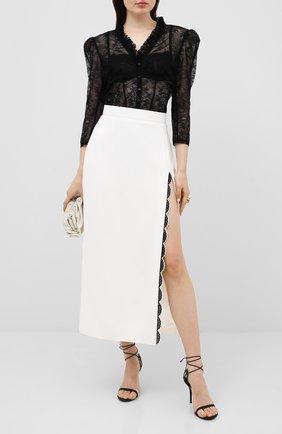 Женская юбка ULYANA SERGEENKO белого цвета, арт. GNM003SS20P (0584т20) | Фото 2