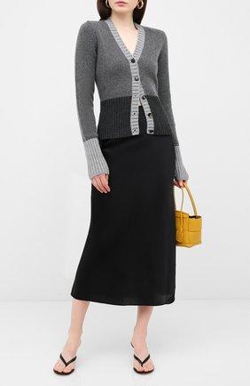 Женская юбка из шелка и вискозы DOROTHEE SCHUMACHER черного цвета, арт. 847904/SENSE 0F SHINE | Фото 2