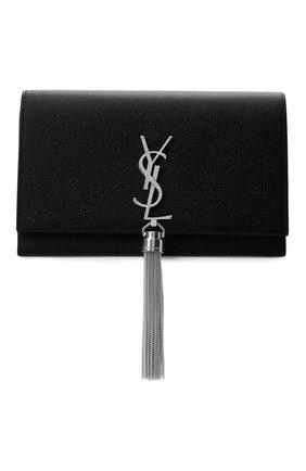 Женская сумка kate SAINT LAURENT черного цвета, арт. 452159/B0W0N | Фото 1