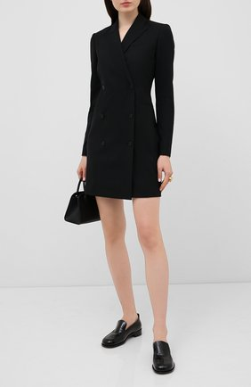 Женское шерстяное платье THEORY черного цвета, арт. H0701614 | Фото 2